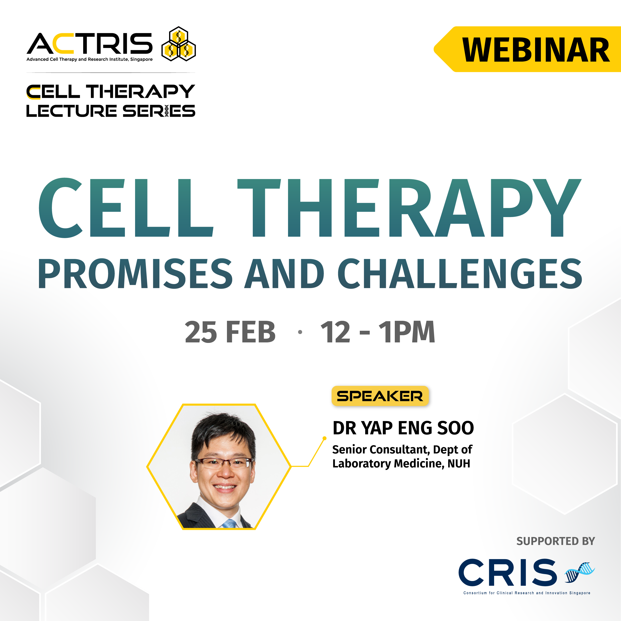 Cell Therapy: Promises and Challenges