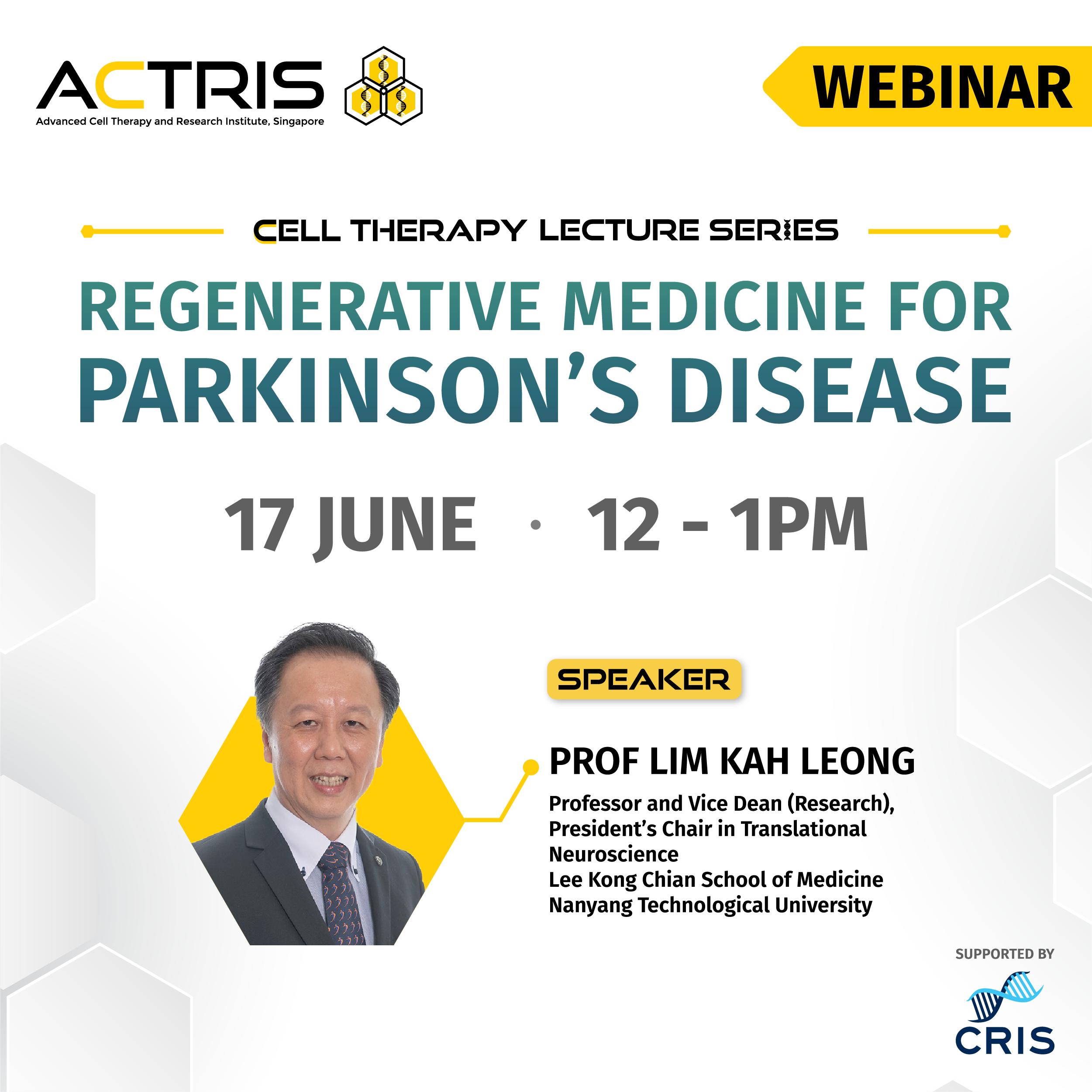 Regenarative Medicine for Parkinson's Disease